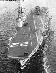 """Авианосец """"Бонэвентэр"""" CVL22"""