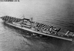 """Авианосец """"Энтерпрайз"""" CV6"""