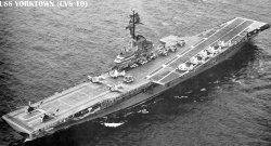 "Авианосец ""Йорктаун"" CV10"