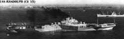 """Авианосец """"Рэндолф"""" CV15"""