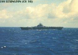 "Авианосец ""Лэксингтон"" CV16"
