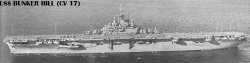 """Авианосец """"Банкер Хилл"""" CV17"""