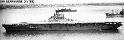 """Авианосец """"Корсарж"""" CV33"""