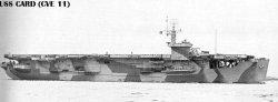 "Авианосец ""Кард"" CVE11"