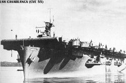 "Авианосец ""Касабланка"" CVE55"