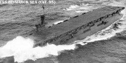 """Авианосец """"Море Бисмарка"""" CVE95"""