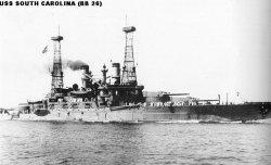 """Броненосный крейсер """"Южная Каролина"""" BB26"""