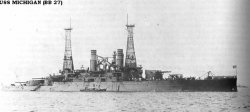 """Броненосный крейсер """"Мичиган"""" BB27"""