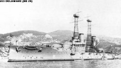 """Броненосный крейсер """"Делавар"""" BB28"""