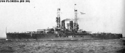 "Броненосный крейсер ""Флорида"" BB30"