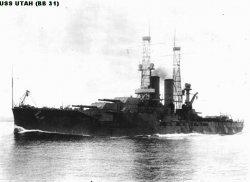 "Броненосный крейсер ""Юта"" BB31"
