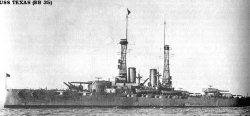 "Броненосный крейсер ""Техас"" BB35"