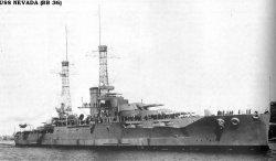 "Броненосный крейсер ""Невада"" BB36"