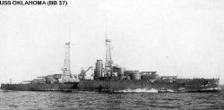 "Броненосный крейсер ""Оклахома"" BB37"