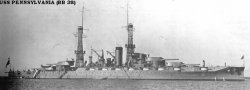 "Броненосный крейсер ""Пенсильвания"" BB38"