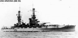 "Броненосный крейсер ""Аризона"" BB39"