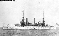"""Броненосный крейсер """"Карсардж"""" BB5"""