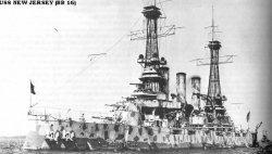 """Броненосный крейсер """"Нью-Джерси"""" BB16"""