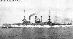 """Броненосный крейсер """"Луизиана"""" ВB19"""