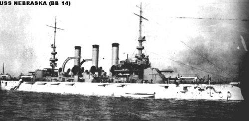 "Броненосный крейсер ""Небраска"" BB14"