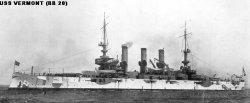"""Броненосный крейсер """"Вермонт"""" ВB20"""