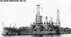 """Броненосный крейсер """"Нью-Хэмпшир"""" ВB25"""