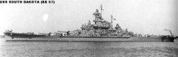 "Броненосный крейсер ""Южная Дакота"" BB57"