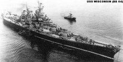 """Броненосный крейсер """"Висконсин"""" BB64"""