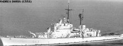 """Ракетный крейсер """"Андреа Дория"""" С553"""