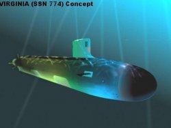 "Подводная лодка ""Вирджиния"" SSN 774"
